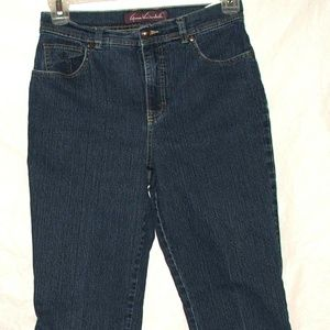 Gloria Vanderbilt Womens 10 Short Jeans Straight